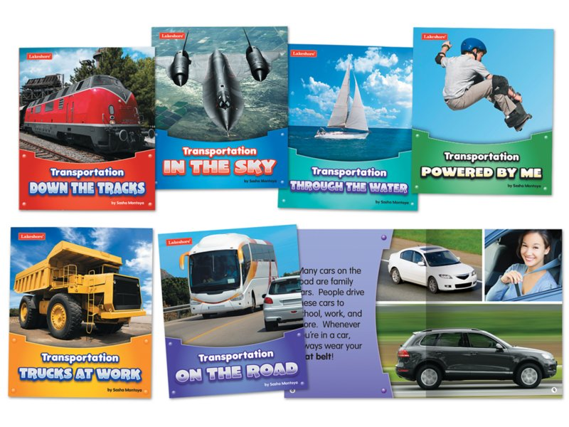 Transportation Book Set