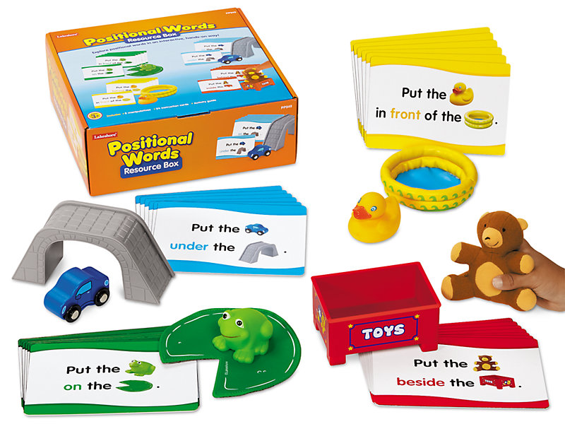 positional words resource box at lakeshore learning