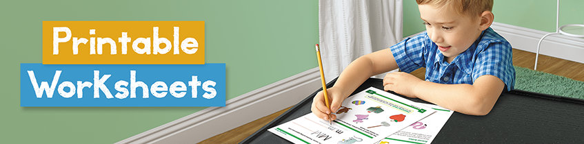 Printable Worksheets | Lakeshore® Learning Materials