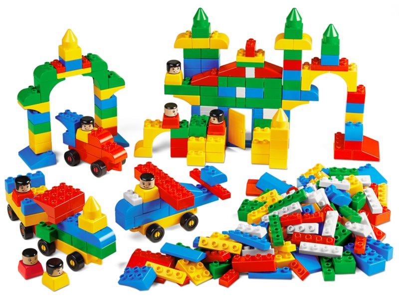 Best-Buy Jumbo Building Bricks - Master Set