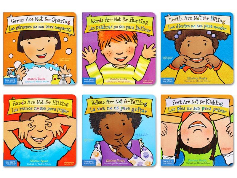 Best Behavior® Bilingual Board Book Collection
