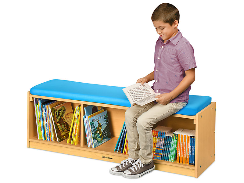 Flex Space Classroom Storage Bench Modern Maple At Lakeshore Learning