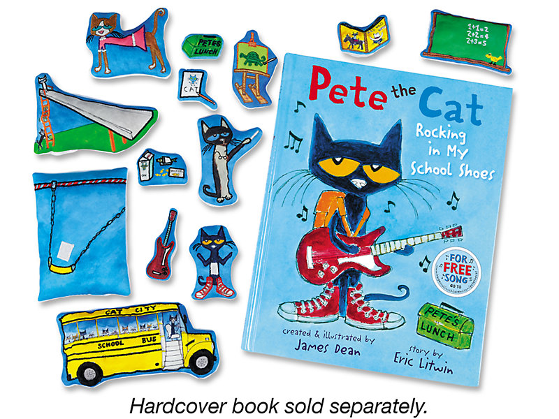 Pete the Cat: Rocking in My School Shoes Storytelling Kit. $29.99. View Larger. ×. Close Window