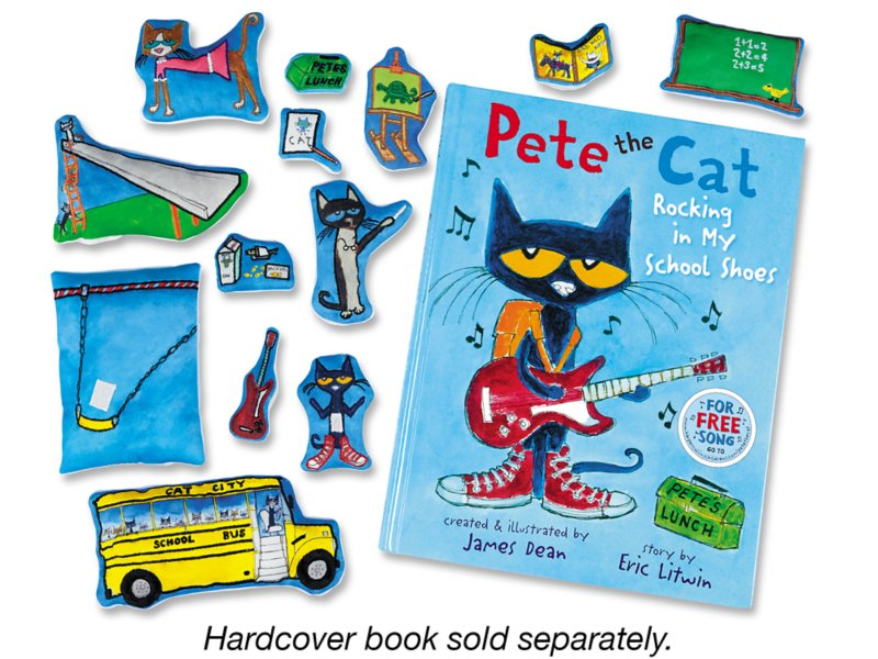 Pete The Cat Rocking In My School Shoes Storytelling Kit At Lakes Learning
