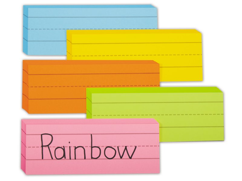 Rainbow Word Strips At Lakeshore Learning