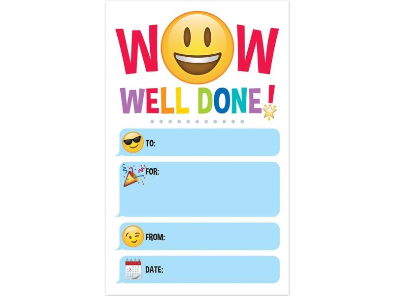 emoji fun well done awards at lakeshore learning