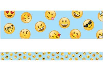 photograph regarding Large Printable Emojis called Emoji Enjoyment Little Emoji Border