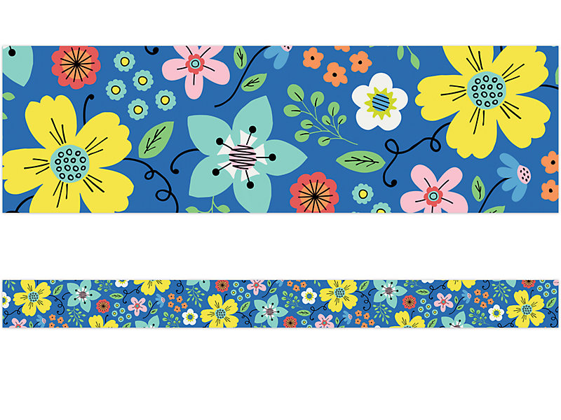 Floral Fun Border At Lakeshore Learning