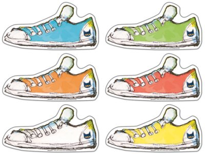 image about Pete the Cat Shoes Printable called Pete the Cat Shoe Accents