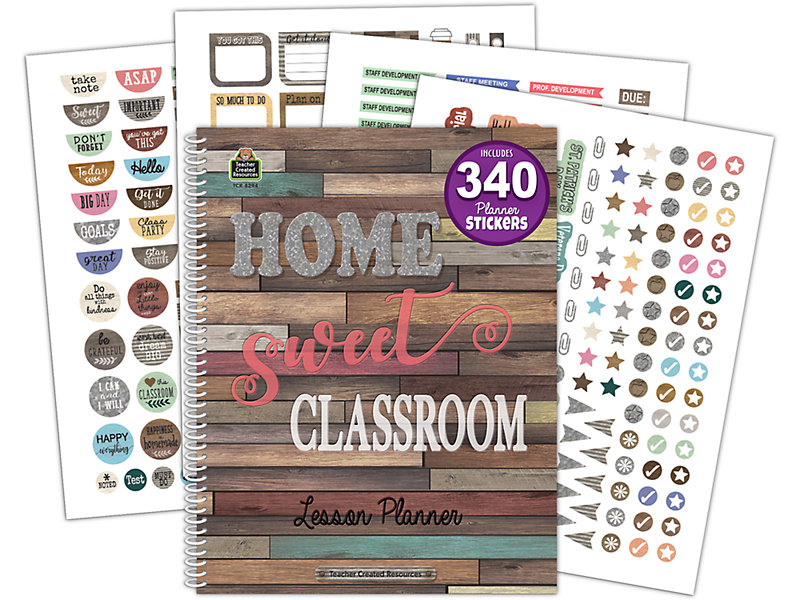 Home Sweet Classroom Lesson Plan Book