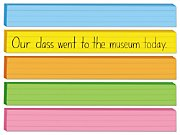 image regarding Printable Sentence Strips known as Rainbow Sentence Strips at Lakeshore Studying