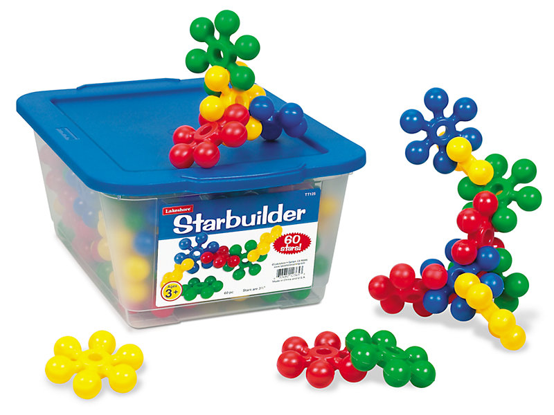 Manipulative Educational Toys : Star builders at lakeshore learning