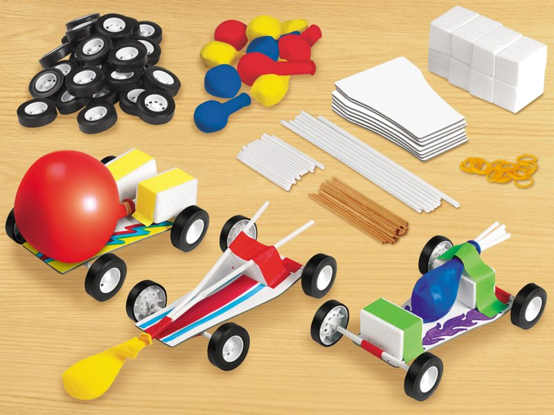 Design Play Steam Cars Kit At Lakeshore Learning