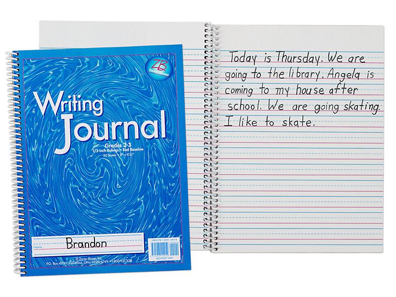 Zaner Bloser Writing Journal Gr 2 3