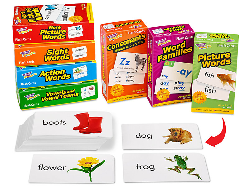 Reading Flash Card Library