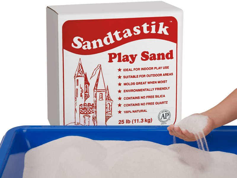 Clean Sand 25 Lb Box At Lakes