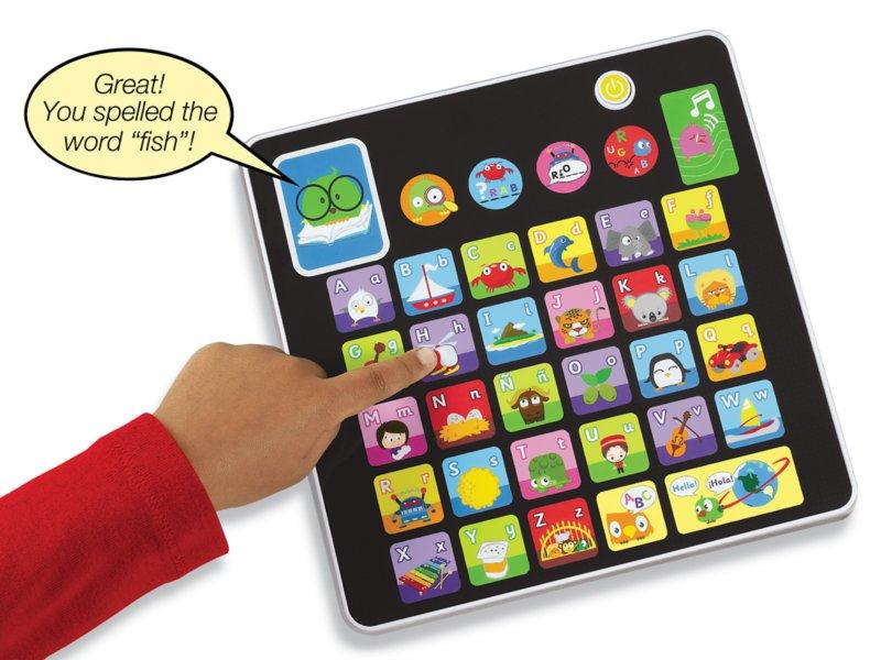 Alphabet Games Learning Tablet