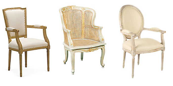 Louis Xvi Style Chairs Love These