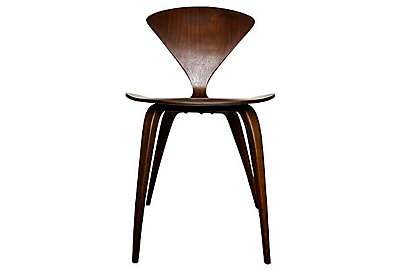 norman cherners side chair cherner furniture