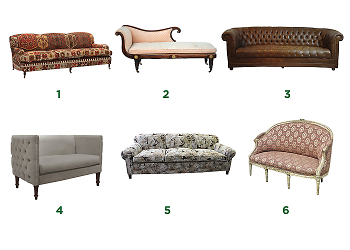 alfa img showing types of couches and chairs