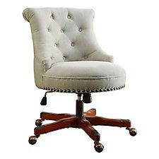 Sinclair Armless Office Chair in Fabric, CH51797