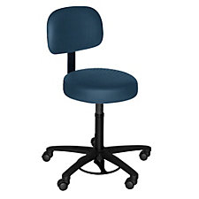 Helix Faux Leather or Fabric Hands-Free Stool , CH50626