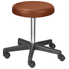 Encompass Vinyl Threaded Stem Counter Height Stool, CH50635