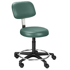 Emcompass Exam Vinyl Stool with Foot Ring, CH50632