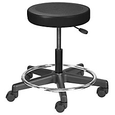 Encompass Vinyl Task Stool with Footrest , CH50637