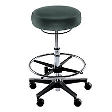 Fabric Counter-Height Stool with Footrest, CH50627