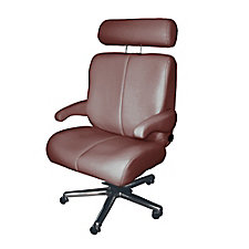 Big Sur Genuine and Faux Leather Big and Tall Office Chair , CH51860