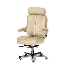 Marathon Big and Tall Genuine Leather Office Chair , CH51864