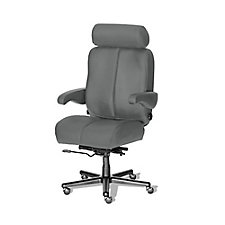 Marathon Big and Tall Fabric or Faux Leather Office Chair , CH51862