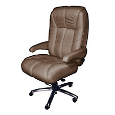 Newport Big and Tall Fabric or Faux Leather Office Chair, CH51865