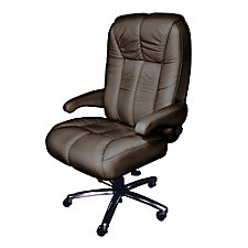 Newport Ultra Big and Tall Genuine Italian Leather Office Chair, CH51870