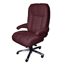 Newport Ultra Big and Tall Fabric or Faux Leather Office Chair, CH51868
