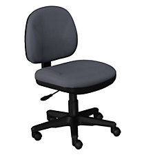 Armless Fabric Task Chair, CH03955