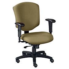 Landmark Fabric Mid Back Ergonomic Chair, CH04070