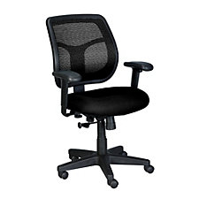 Apollo Mesh and Fabric Mid-Back Ergonomic Chair, CH02909