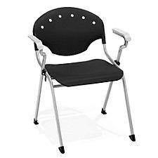 Rico Plastic Modern Stack Chair, CH04397
