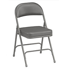 "Vinyl Folding Chair with 2"" Seat, CH50338"