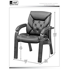 Faux Leather Chairs - Set of 4, CH52449