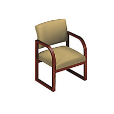 Fabric Upholstered Guest Chair with Arms, CH01236