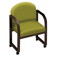 Round Contour Back Conference Chair with Arms, CH01239