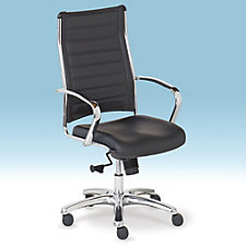 Europa Bonded Leather High Back Task Chair, CH50582