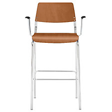 Arc Molded Wood Guest Stool, CH51005