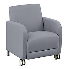 "Fabric Guest Chair with Casters - 27""W, CH51523"