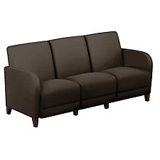 "Leather Parkside Sofa - 69.5""W, CH51547"