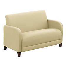 "Leather Parkside Loveseat - 50""W, CH51548"