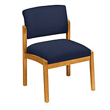 Fabric Armless Guest Chair, CH02882